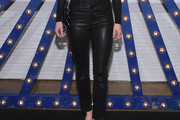 AnnaSophia Robb Leather Pants