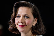 Maggie Gyllenhaal Curled Out Bob