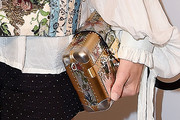 Jennifer Connelly Metallic Clutch