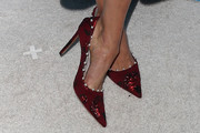 Nina Dobrev Evening Pumps