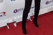 Ellie Goulding Over the Knee Boots