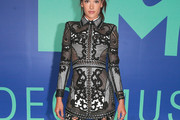 Alessandra Ambrosio Embroidered Dress
