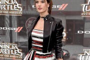 Alessandra Ambrosio Leather Jacket