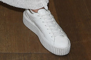 Jessie J Leather Sneakers
