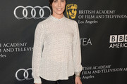 Michelle Forbes Print Blouse