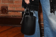 Dianna Agron Leather Tote