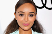 Ashley Madekwe Half Up Half Down