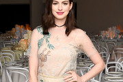 Anne Hathaway Embellished Top