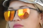 Rita Ora Square Sunglasses