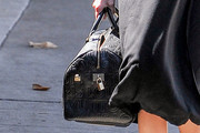 Ashley Tisdale Leather Bowler Bag