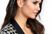 Nina Dobrev Long Partially Braided