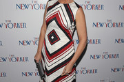 Savannah Guthrie Print Dress