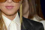 Rachel Zoe Dangling Chain Earrings