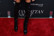 Joan Smalls Over the Knee Boots