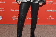 Claire Danes Leather Pants