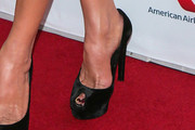 Catherine Zeta-Jones Peep Toe Pumps