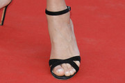 Uma Thurman Strappy Sandals