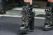 Rita Ora Lace Up Boots