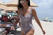 Kourtney Kardashian One Piece
