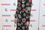 Anne Hathaway Print Dress