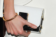 Karlie Kloss Buckled Clutch