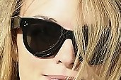 Heather Graham Cateye Sunglasses