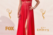 Morena Baccarin Evening Dress
