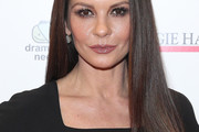 Catherine Zeta-Jones Long Straight Cut