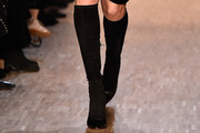 Candice Swanepoel Knee High Boots