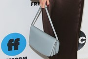 Leighton Meester Leather Shoulder Bag