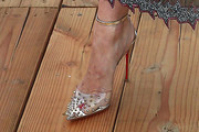 January Jones Studded Heels