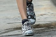 Cara Delevingne Canvas Sneakers