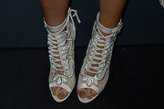 Kylie Jenner Lace Up Boots