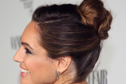 Kelly Brook Twisted Bun