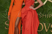 Jourdan Dunn One Shoulder Dress