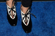 Maria Menounos High Heel Oxfords