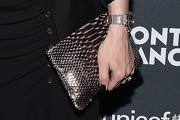 Olivia Palermo Metallic Clutch