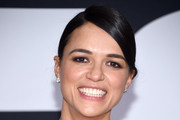 Michelle Rodriguez Long Braided Hairstyle