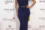 Eva Longoria One Shoulder Dress