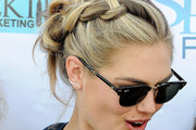 Kate Upton Braided Updo