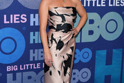 Reese Witherspoon Strapless Dress