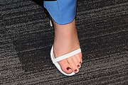 Zoey Deutch Strappy Sandals