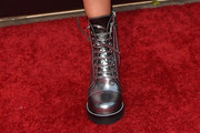 Ashley Tisdale Combat Boots