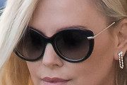 Charlize Theron Butterfly Sunglasses