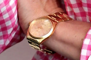 Chloe Sevigny Gold Quartz Watch