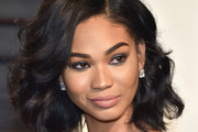 Chanel Iman Curled Out Bob