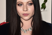 Michelle Trachtenberg Long Straight Cut