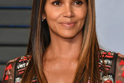 Halle Berry Long Straight Cut