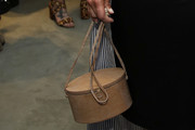 Dianna Agron Leather Shoulder Bag