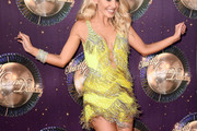 Mollie King Fringed Dress